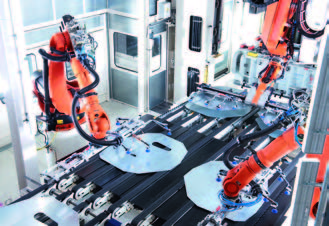 Robots Used In Automation Of Press Rebuilds Image - BCN Technical Services