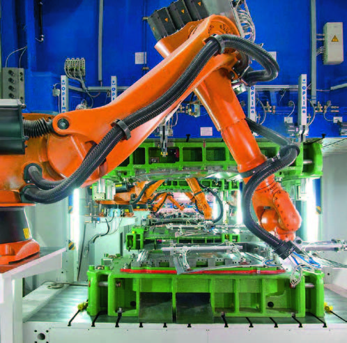 Robot Used At Press Repair & Rebuild Company Photo - BCN Technical Services