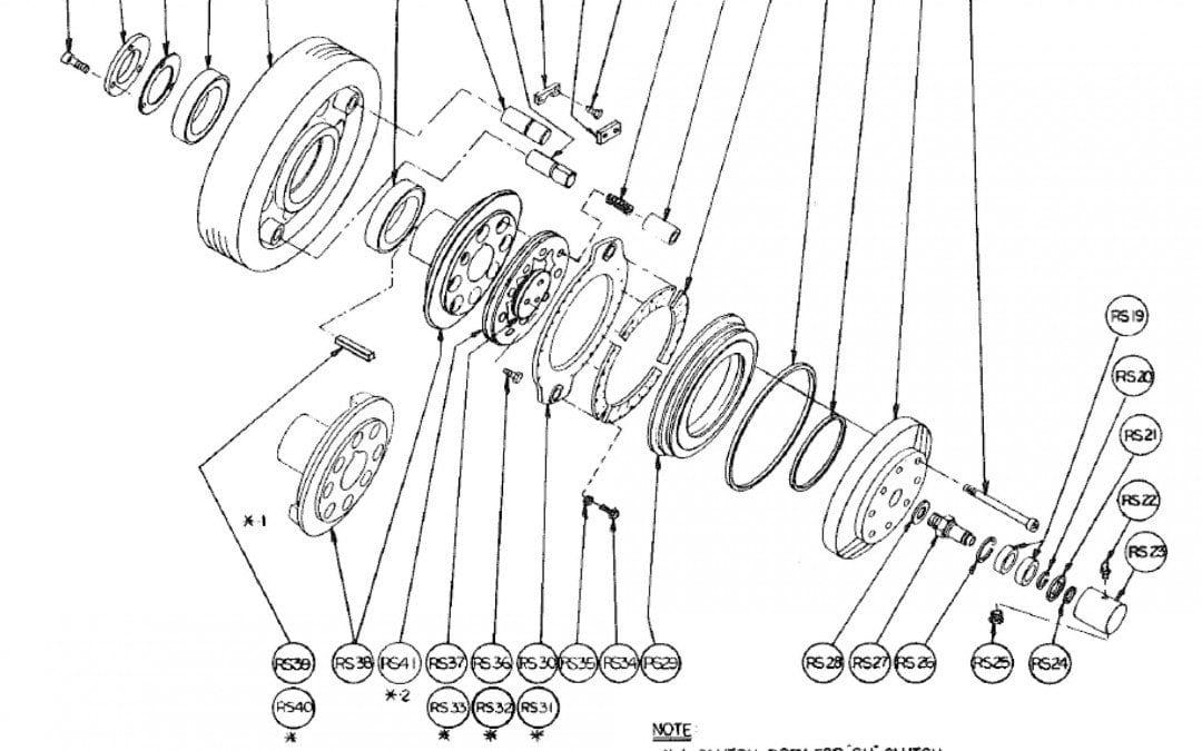 Tipo SU Embrague de Fricción de Aire Modelo 11 y 21