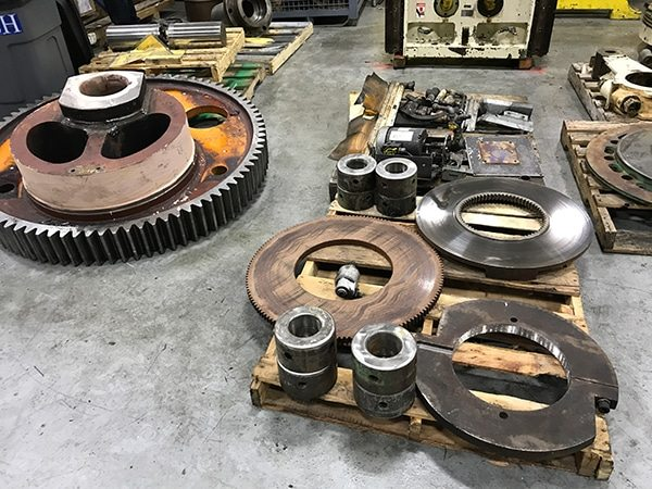 Clearing Parts