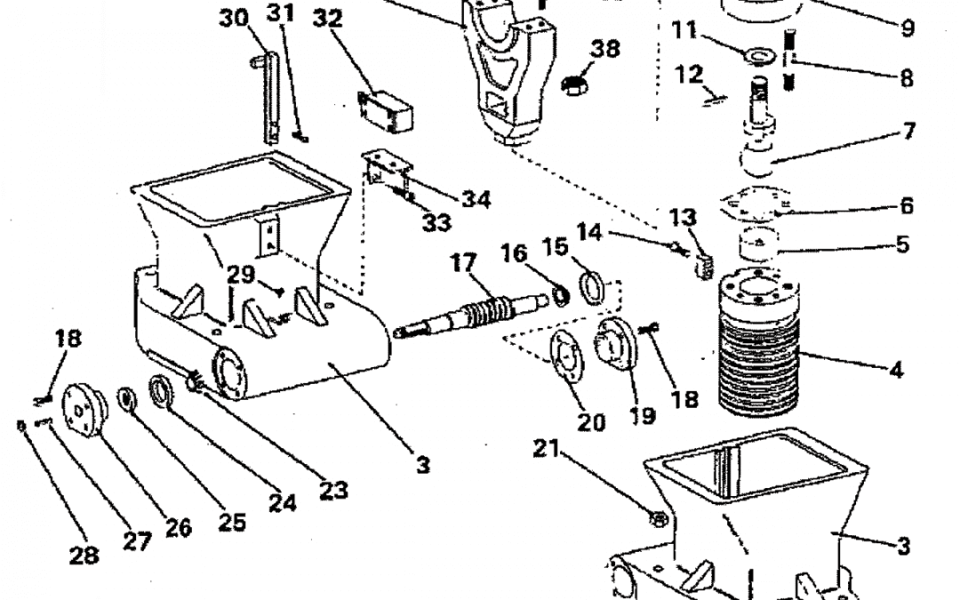 Tornillo de bola de montaje de ajuste de barril A-13-D