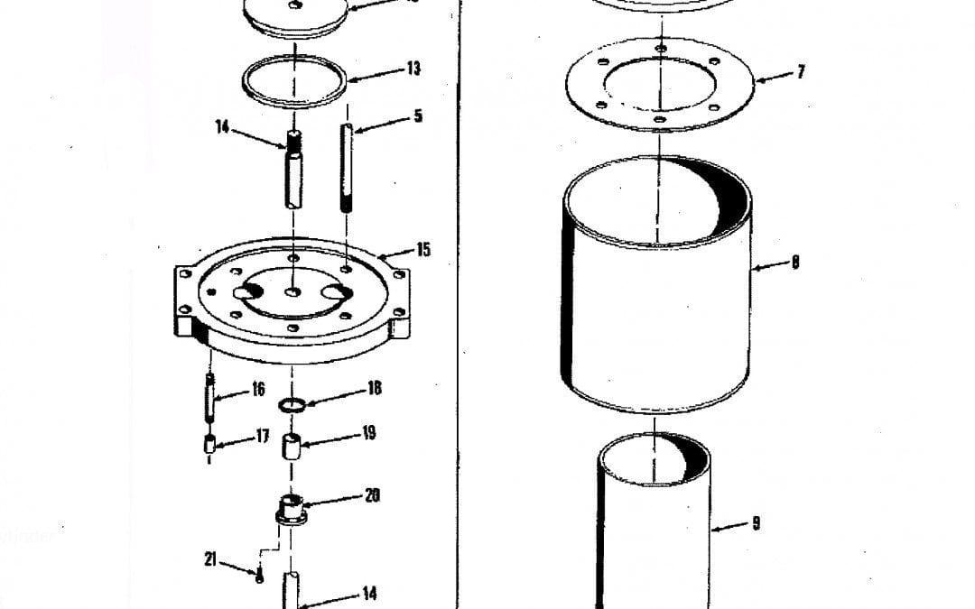 Contrapeso de aire autocontenido – Formulario A-6-B-1