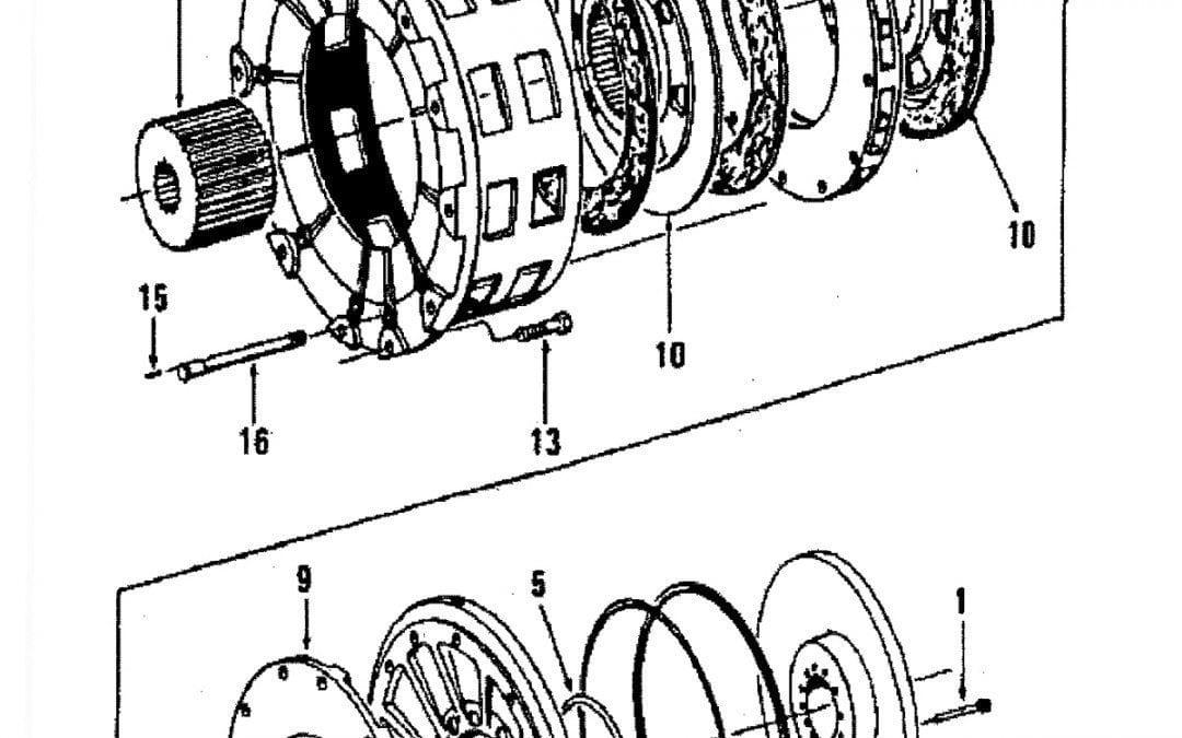 Freno de disco de liberación de aire – Forma A-6-C-5