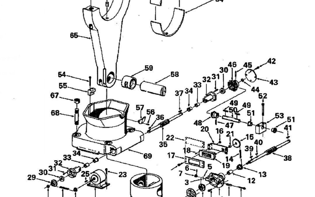 Pin de muñeca del ensamblaje del ajuste del barril forma A-13-D-1