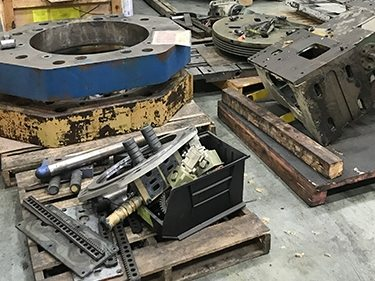 Press Machine Types Worked on by BCN Technical Services