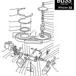 Bliss Modelo 1831 – Placa Bliss 11