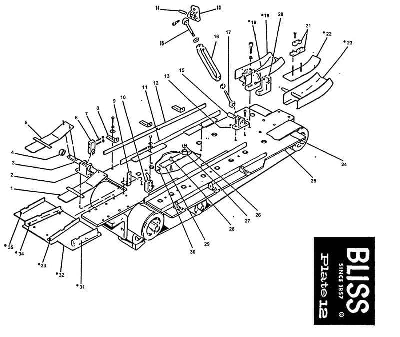 Bliss Model 1831 – Bliss Plate 12